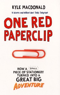 One Red Paperclip to house